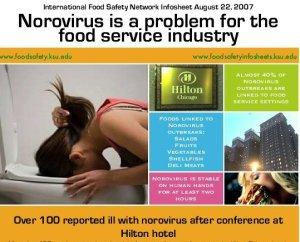 norovirus outbreak hotels