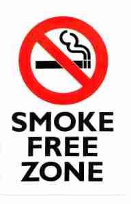 smoke free hotels