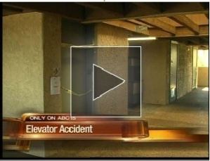 Hotel Elevator Accident