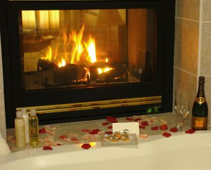 Hotel Glass Fireplaces