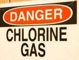 chlorine gas leak