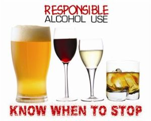 Alcohol Drink Responsibly