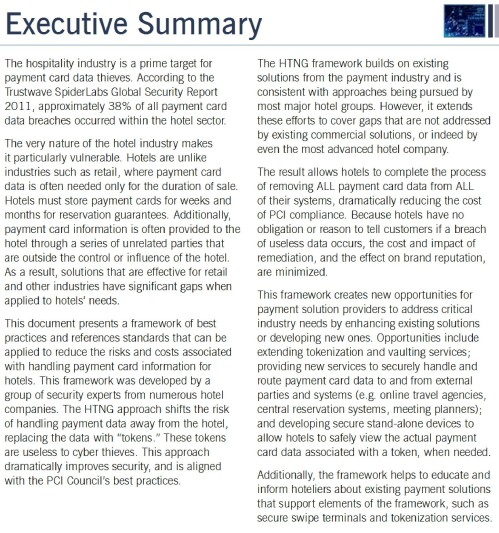 Hospitality Industry Secure Payment Framework Executive Summary-page-001