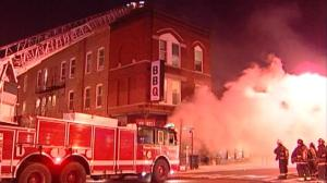Restaurant Fire in Chicago. NBC Chicago Facebook