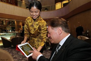 Hotel Restaurant Online Tablet Ordering System