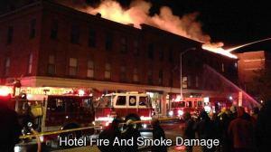 Hotel Fire and Smoke Damage