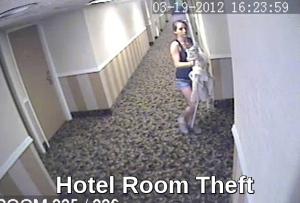 Hotel Room Theft
