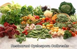 Restaurant Cyclospora Outbreaks
