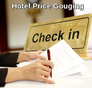 Hotel Price Gouging
