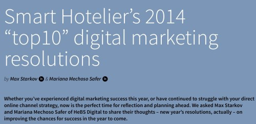 Hotel Yearbook 2014 Digital Trends