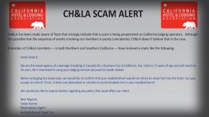 CH&LA Alert