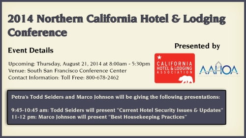 2014 Northern California Hotel & Lodging Conference