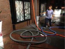 Water leak W Hotel