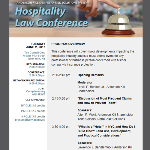 Hospitality Law Conference